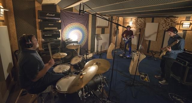 MANTIS Recording Session
